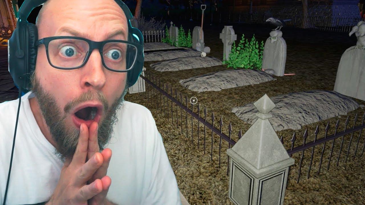 Jeg Har Bygget En Kirkegård i min Park! 💀⚰️