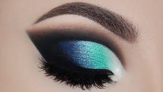 ♡ Maquiagem Cut Crease Azul | Melissa Samways BR ♡
