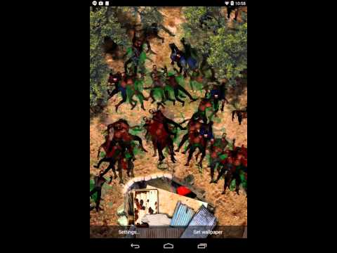 zombie horde live wallpaper android apps on google play