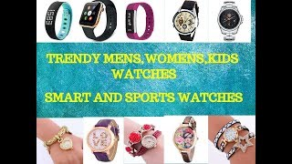 SHOPPING WATCHES, MENS WATCHES, SMART WATCHES, SPORTS WATCHES, FASHION WATCHES