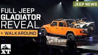 Jeep Gladiator Reveal, Walk Around & Specs + Interview With Head of Jeep Brand