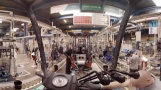 Экскурсия по заводу Тойота в Ансени (Франция)(Весь цикл сборки погрузчиков Тойота в панорамном 360-градусном видео. Завод Toyota Industrial Equipment S.A. является одним..., 2016-08-26T08:40:32.000Z)
