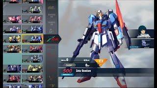 Gundam Versus Combo Guide - Zeta Gundam