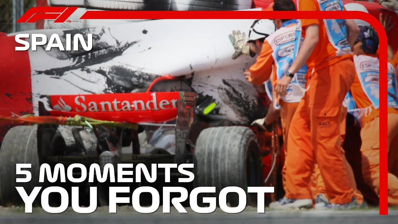 5 Moments You Forgot | Spanish Grand Prix