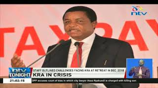 Is KRA a victim of its own inaction? Staff discussed key issues in 2018