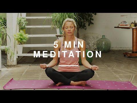 Easy 5 Min Meditation | Lindsay Jay | Wild Dish