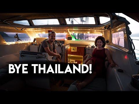 Maldives PASSAGE PREP and finally saying goodbye to THAILAND! Outside Watch - Vlog #4
