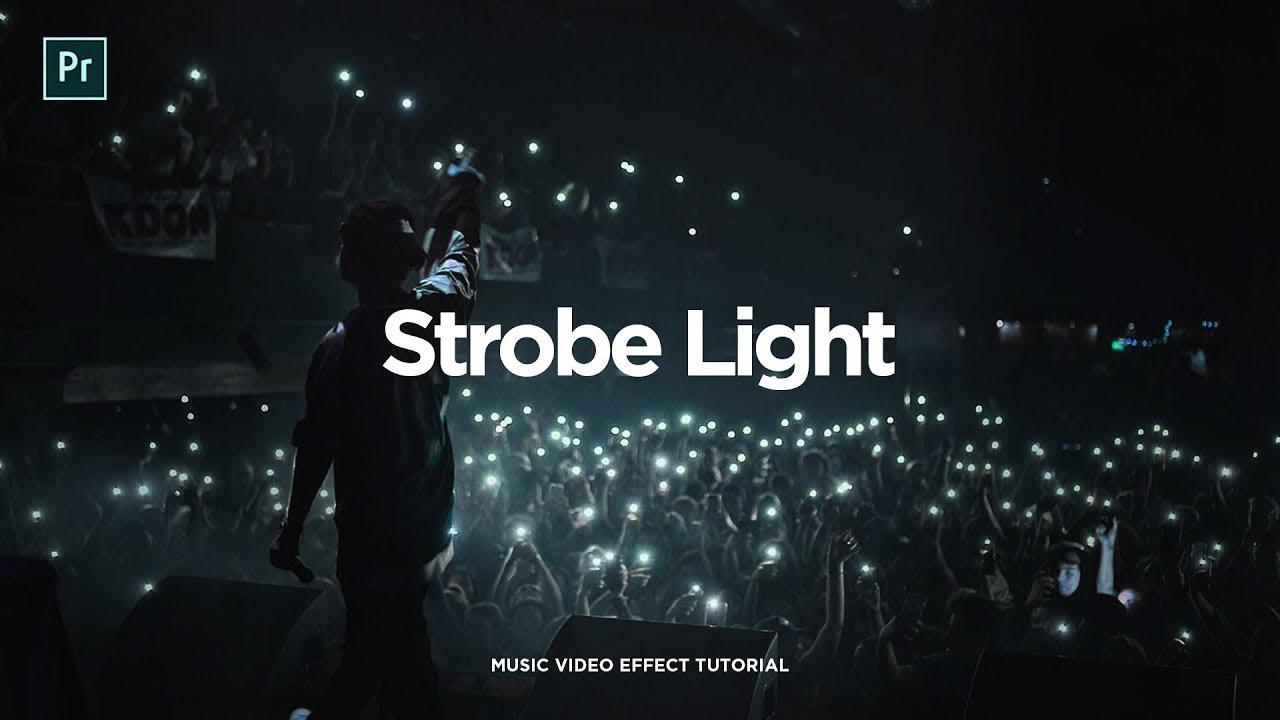 strobe light video effect app