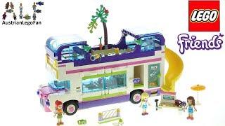 lEGO Friends 41395 Friendship Bus - Lego Speed Build Review