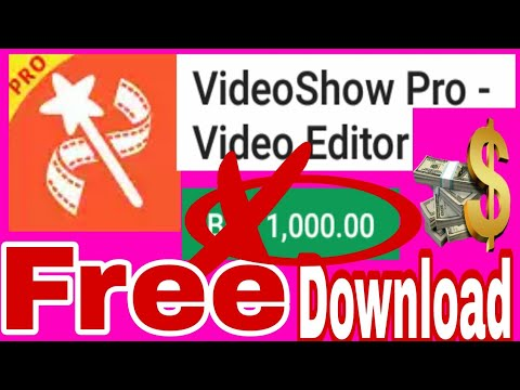 Videoshow video editor pro app free download | Download VideoShow