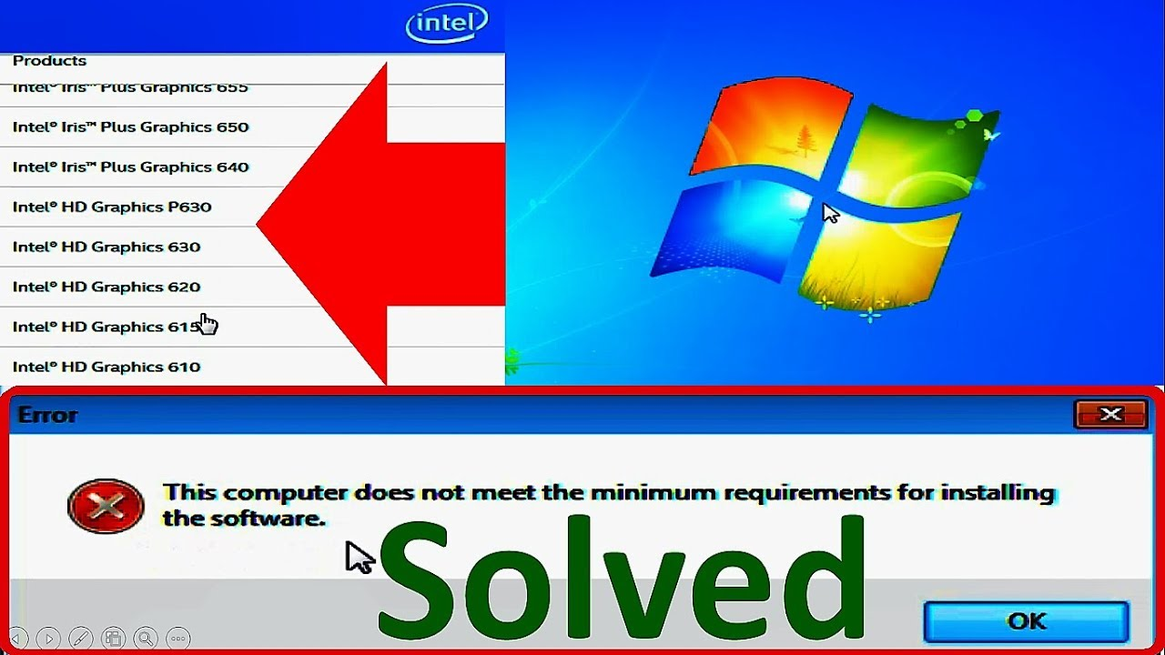 How to Fix Intel HD Graphics Driver Installation Error Windows 7 (Complete  Tutorial)