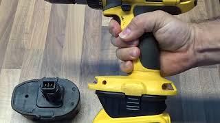 Adaptér baterie pro vrtačky Dewalt