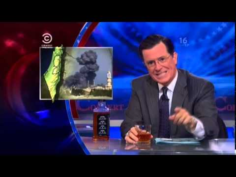 Stephen Colbert on Gaza