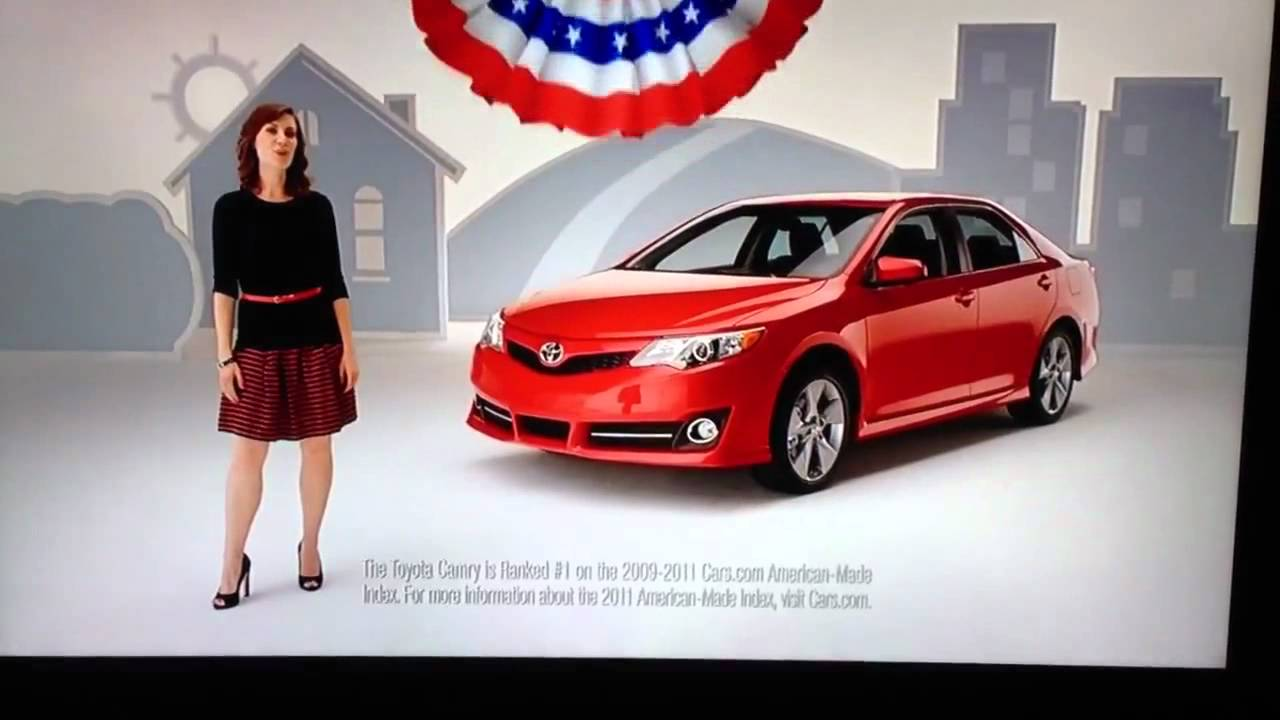 Toyota Camry - Most American Made Car 3 Years In A Row - YouTube