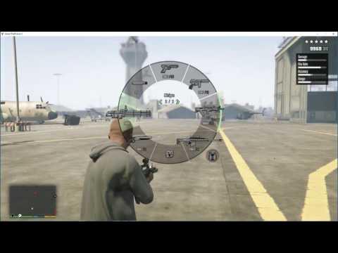 GTA 5-Full Auto Flare Gun