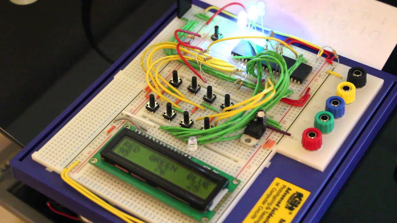 Rgb Led Controller Pic Based Free Download Youtube Pic16f628 4 Pwm Premium