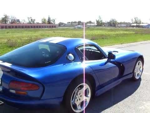 1996 dodge viper gts with hennessey package for sale youtube. Black Bedroom Furniture Sets. Home Design Ideas