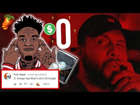 Making A 21 Savage Type Beat With FL Studio 20 Stock Plugins | Curtiss King