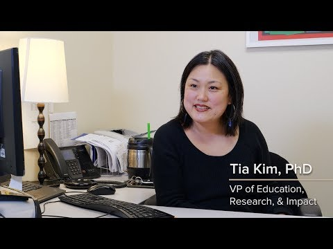 Tia Kim, VP, Education, Research, & Impact. Meet the Makers of the Second Step Middle School Program