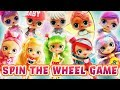 LOL Surprise Dolls Dress Up Like Shoppie Dolls Spin the Wheel Game! With Sugar Queen and Shopkins!