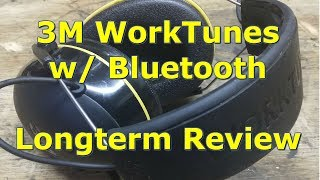 3M WorkTunes Hearing Protection with Bluetooth Long Term Review by @GettinJunkDone