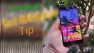 J7 Prime Tips&Trick Nougat  