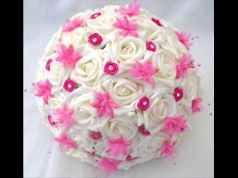 Diy Wedding Bouquets Artificial Flowers