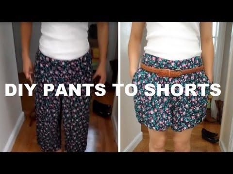 DIY: Pants to Shorts (No Sewing). http://bit.ly/2GPkyb3
