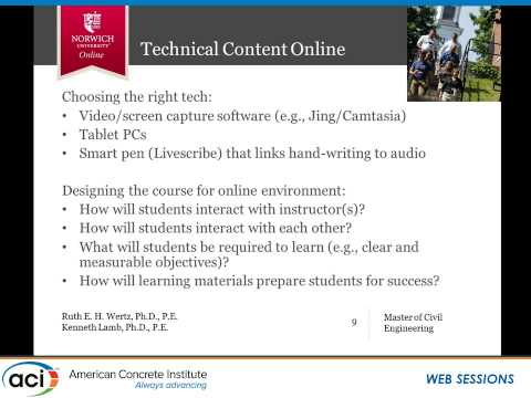 Teaching Engineering Online