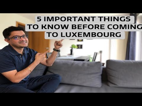 5 IMPORTANT THINGS TO KNOW BEFORE MOVING TO LUXEMBOURG l LIFE IN LUXEMBOURG l PART 1