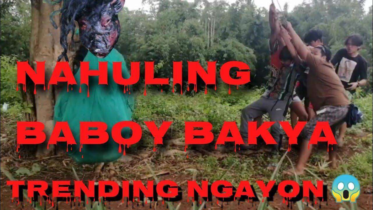 Download BABOY BAKYA PART 3: TOTOONG BABOY BAKYA ANG NAHULI NAMIN ? kmjs