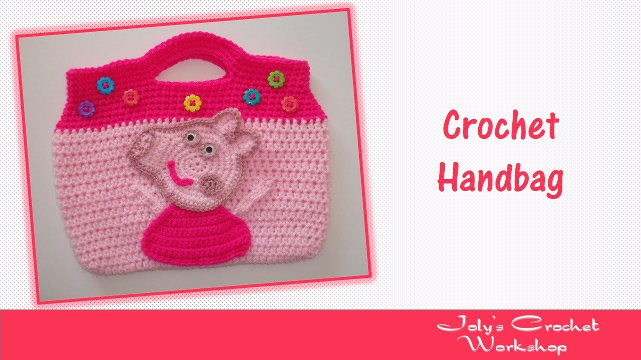 Peppa Pig Crochet Handbag Part 1