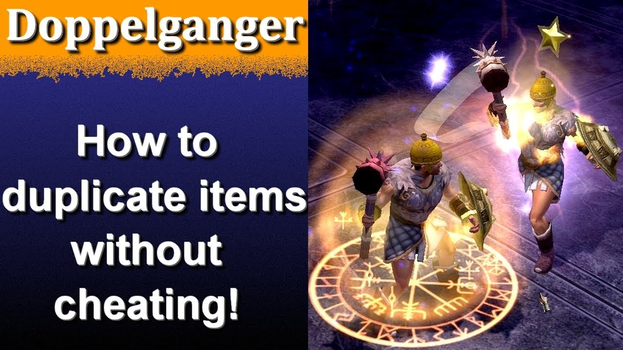 Titan Quest Ragnarok Doppelganger, how to duplicate items without cheats