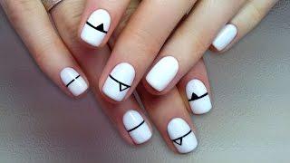 Дизайн ногтей гель-лак shellac - Роспись ногтей (видео уроки дизайна ногтей)(Видео уроки дизайна ногтей - Роспись ногтей Данные видео уроки дизайна ногтей предназначены для начинающи..., 2016-04-05T22:23:41.000Z)