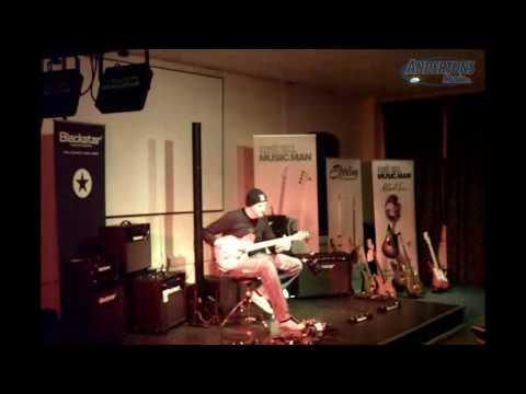 Jamie Humphries Live at Andertons Blackstar & Musicman Night