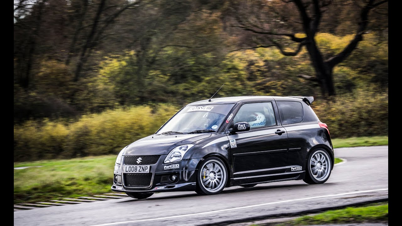 Part Box.com Suzuki Swift Sport Track Car: Onboard And Exterior Footage. Car  Throttle Extra