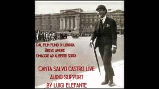 Breve amore (You Never Told to me) cover alberto sordi canta salvo castro live
