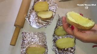 HOME MADE DOUBLE  BAKED POTATOES