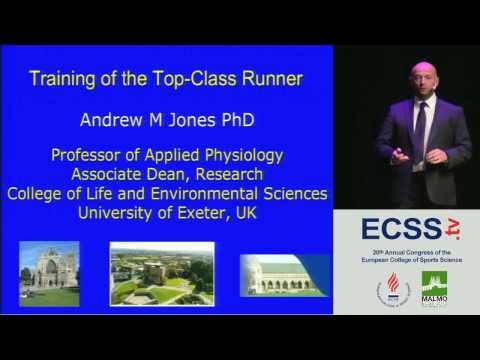 Training of the Top-Class Runner - Prof. Jones