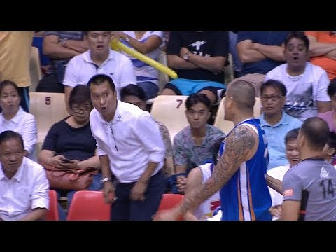 JR Quiñahan & Coach Chito Victolero Exchange HEATED Words (VIDEO)