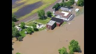 Flooding in Missouri submerges houses, farmland