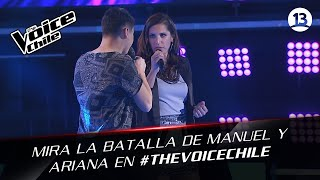 The Voice Chile   Manuel y Ariana - Pride (in the name of love)