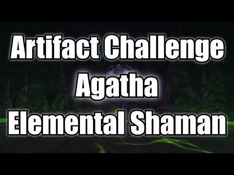 Artifact Challenge: Agatha - Elemental Shaman POV