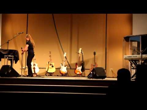 Shelby Olson sings