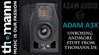 aDAM A3X  more stuff UNBOXING. PARCEL FROM THOMANN (RUS)