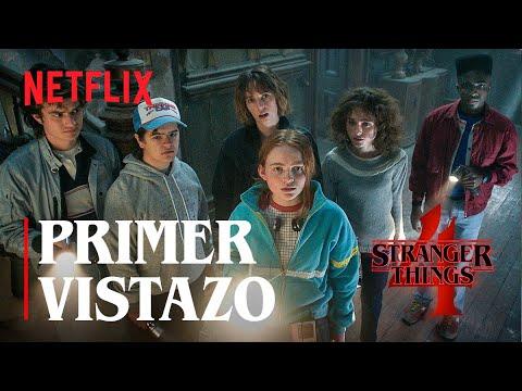 Stranger Things 4 | Primer vistazo | Netflix