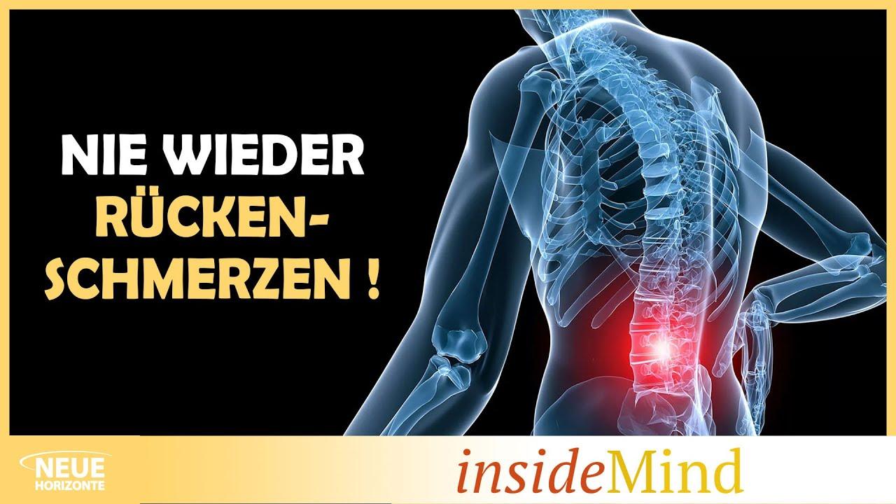 Endlich keine Rückenschmerzen mehr!