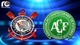 Corinthians 0x0 Chapecoense   AO VIVO   Campeonato Brasileiro