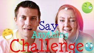 ВЫЗОВ АССОЦИАЦИИ | SAY ANYTHING CHALLENGE