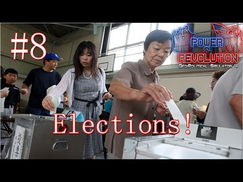 Japan | Episode 8: ELECTIONS | Power & Revolution Gameplay